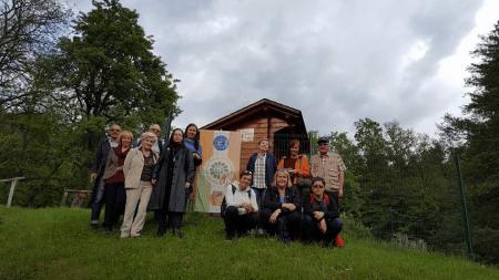 2. terenska vaja, 16. 5. 2016 - čebelnjak Šolskega centra Šentjur