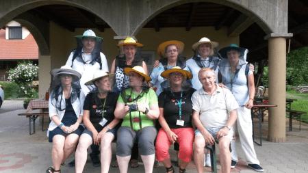 4. terenska vaja, 28. 7. 2016 - čebelarstvo Čebelji gradič, Serdica